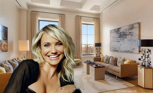 Do you ever wonder how the stars live? Take a peek into Cameron Diaz's new NYC apartment... http://curbed.com/archives/2013/12/11/inside-cameron-diazs-new-9m-manhattan-apartment.php